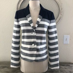 GAP Striped Academy Blazer size 4
